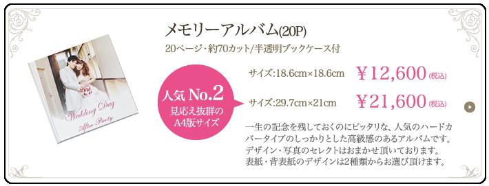 メモリーアルバム(20P)